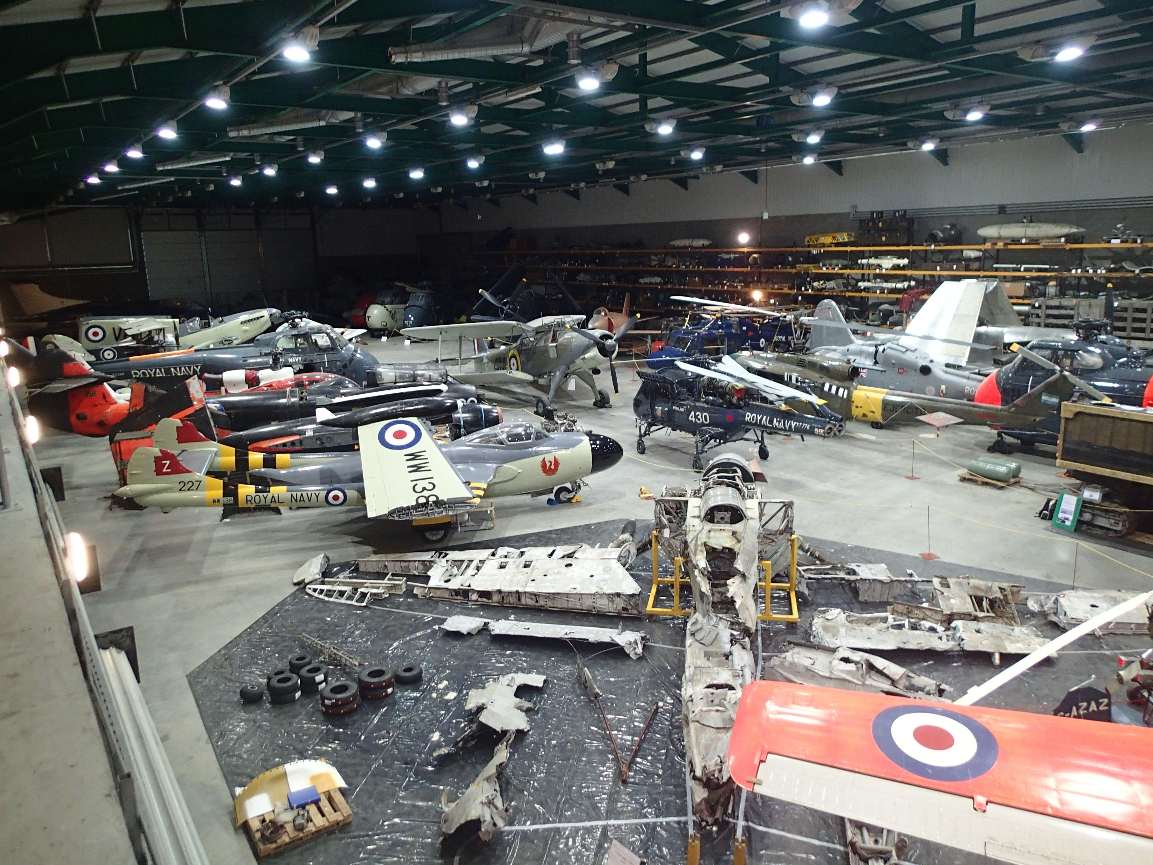 Inside the Fleet Air Arm Museum's warehouse Museum, Best