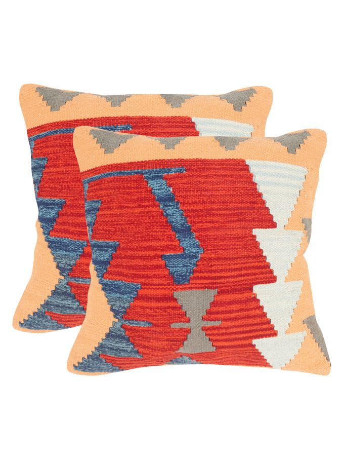 Kilim Square Pillows Set of 2 from Safavieh Decorative Pillows