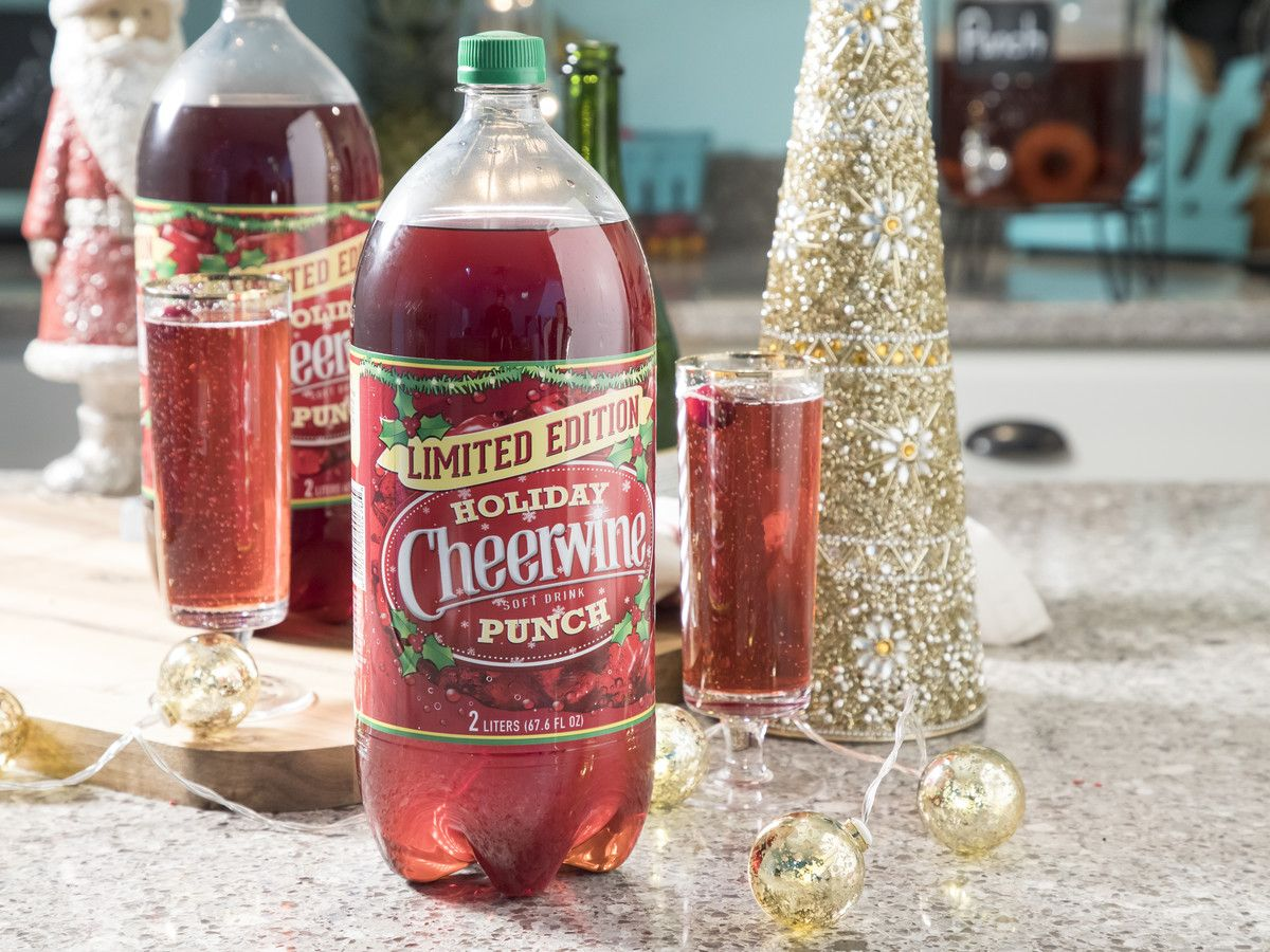 Cheerwine Holiday Punch Is Back For A Limited Time Only Holiday Punch