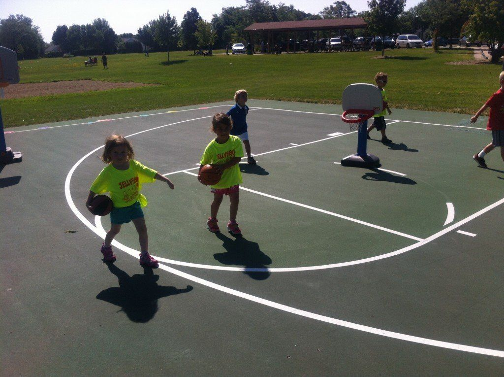 Teach young children how to dribble without dribbling