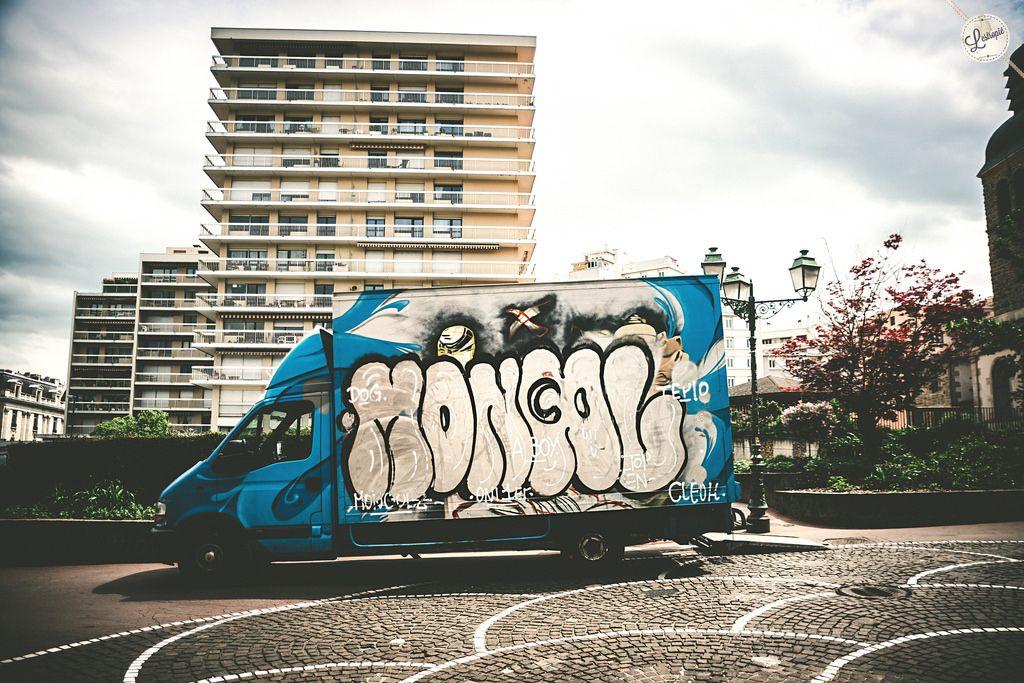 https://flic.kr/p/z4PFeG   Mongol truck   Mongol truck Nikon D800 Saint-Étienne   #streetphotography  #truck  #mongolstreetart #urbanphotography #SaintEtienne  #graffiti  #streetart  #StEtienne