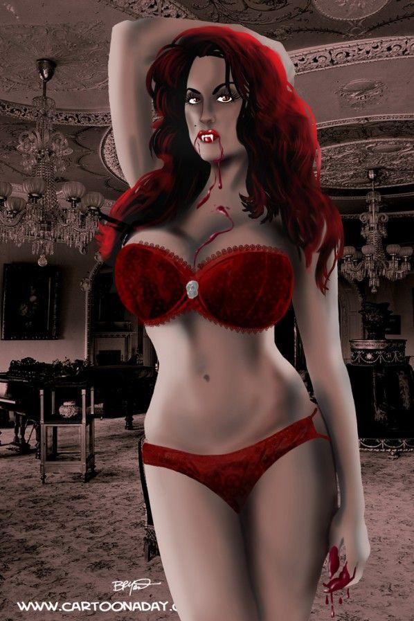 Pin On Hot Female Vampires V-3210