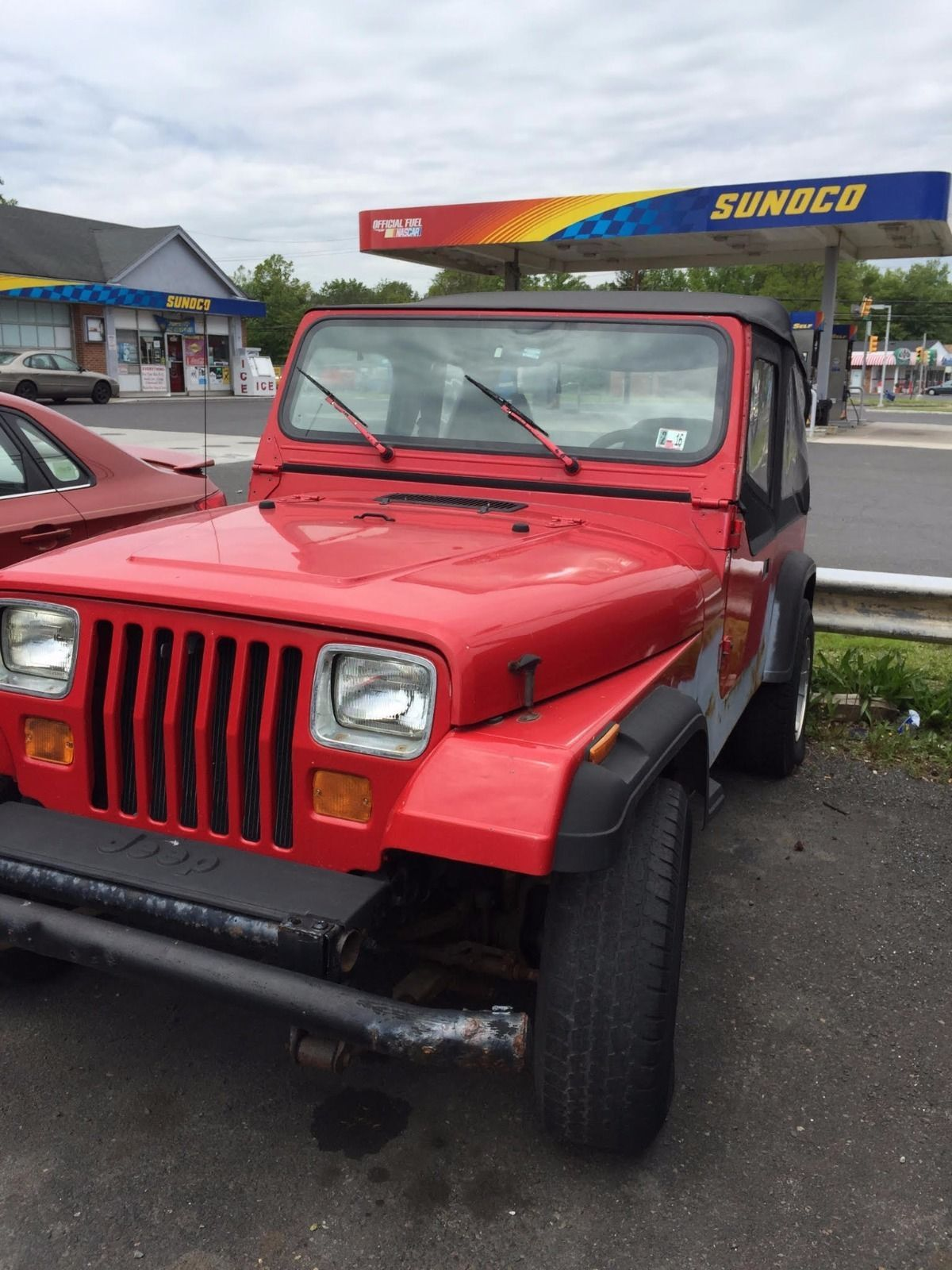 Car brand auctionedJeep Wrangler 1995 Car model jeep