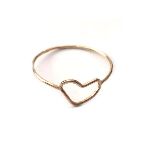 Mini Heart Ring – Spitfire Girl
