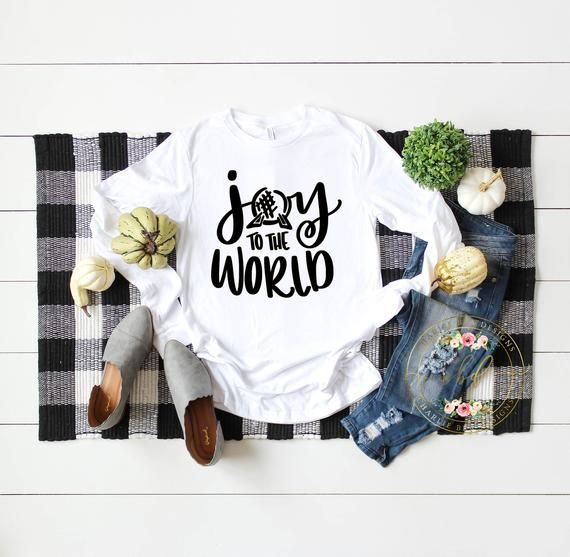 Photo of Joy To The World Disney Shirt – Epcot Shirt – Disney Shirt -…