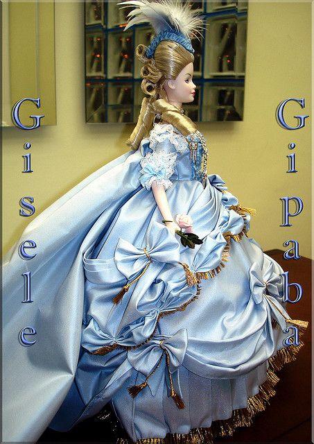 barbie marie antoinette women of royalty side view flickr - Barbie Marie