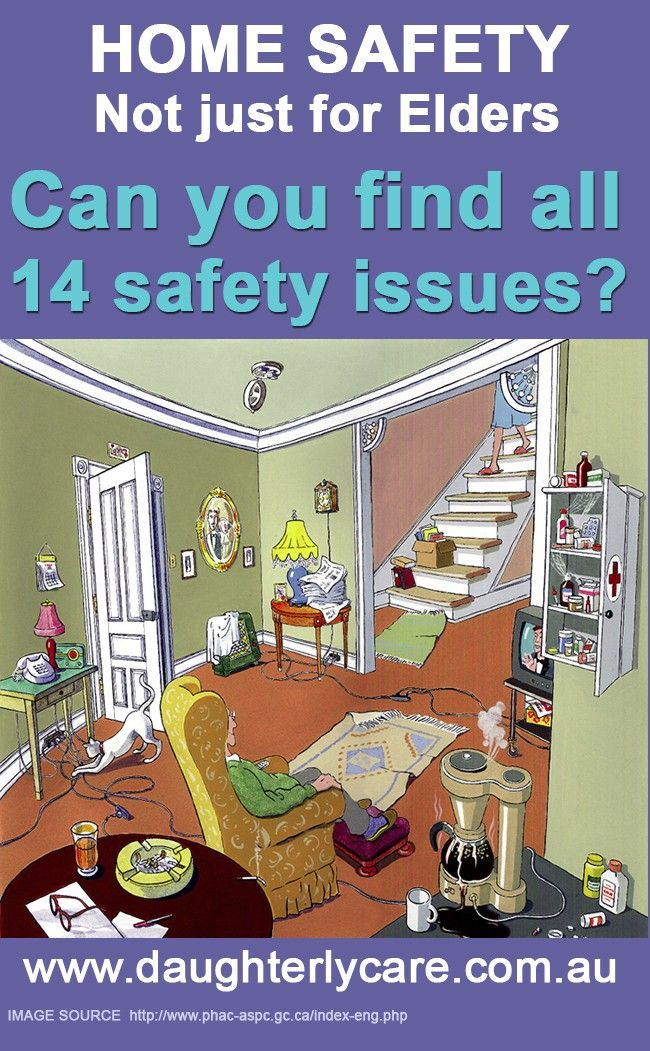 Elderly In Home care safety can be a big issue if you don