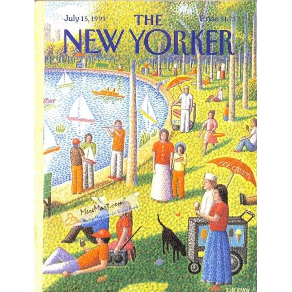 Cover Print Of New Yorker July 15 1991 New Yorker Covers The