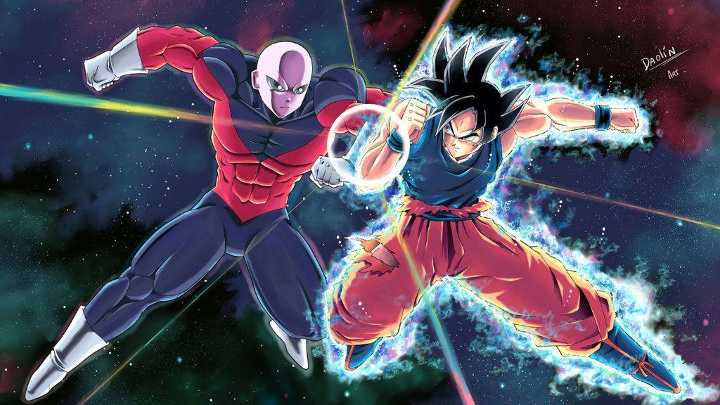 Goku Ultra Instinct Vs Jiren By Daolinart Dragon Ball Super Goku Dragon Ball Image Dragon Ball Z