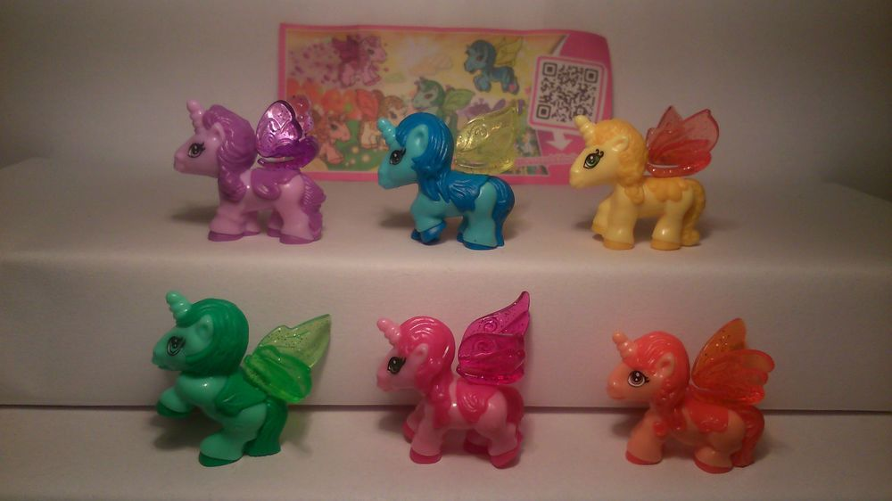 My Little Pony Einhorn Unicorn komplett inkl. aller Bpz