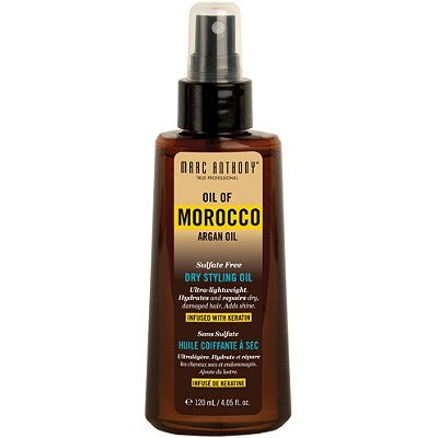 Marc Anthony Oil Of Morocco Argan Oil Dry Styling Oil Dry Styling Argan Oil Hair Oil Serum