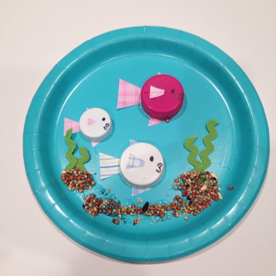 Reduce reuse repurpose recycle craft make a 3d fish bowl for Reduce reuse recycle crafts