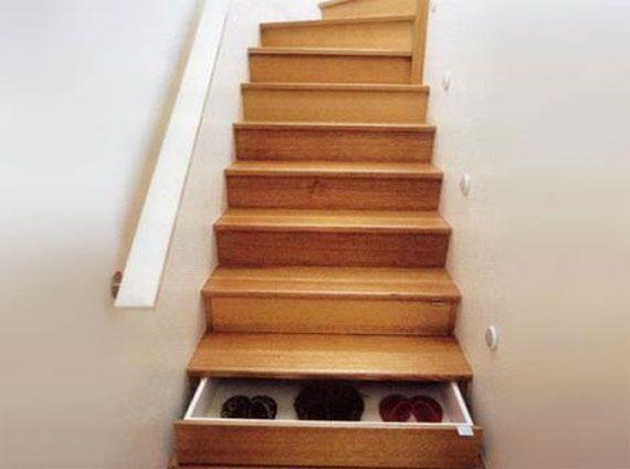 Lades In Trap : Schoenen onder de trap kast onder de trap 집 집