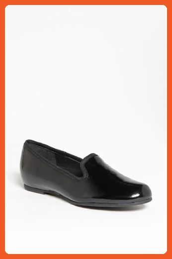 look good shoes sale new york newest collection Munro Womens Jerrie Black Crinkle Patent Flat - 6 M - Flats ...