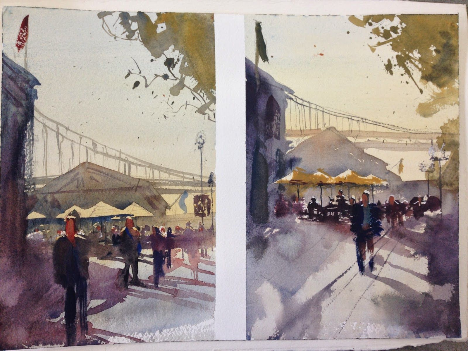 Seamless Expression Alvaro Castagnet Watercolor Workshop Review