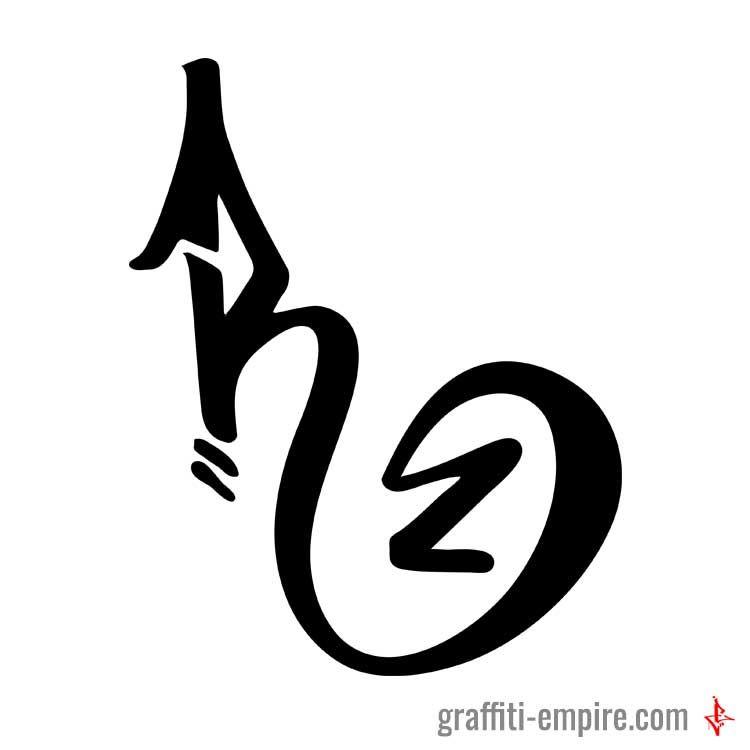R Graffiti Tag Letter Graffiti Lettering By Graffiti Empire