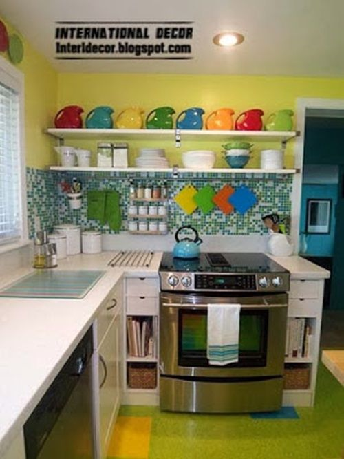 Space-Saving Solutions for small kitchens | Rooms to ... on kitchen counter designs, kitchen breakfast nook booth, kitchen storage solutions, kitchen design galley kitchen,