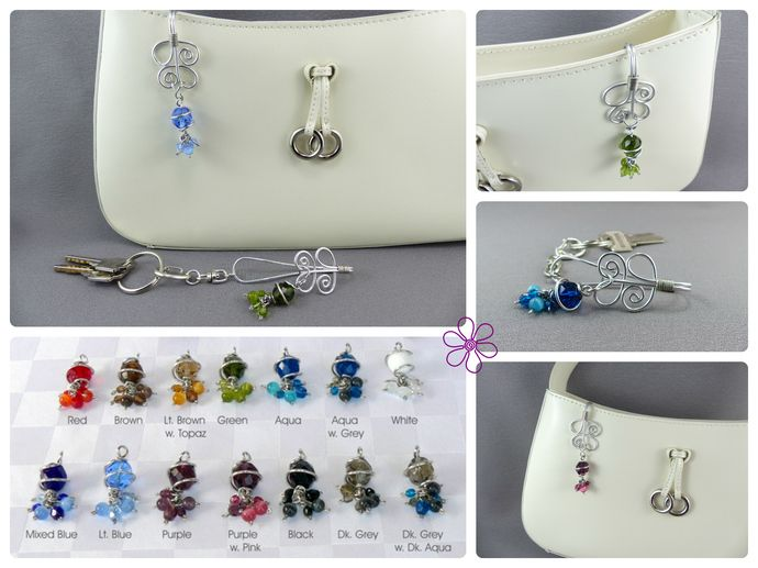 Key Finder Purse Hooks Keychain Hook Handmade Charm By Wireexpressions Designs Photo S Intellectual Property Are
