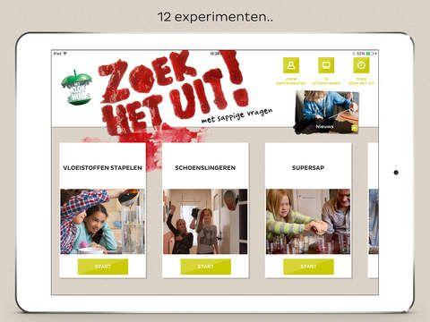 Klokhuis-app: Zoek het uit! van NTR Publieke omroeporganisatie