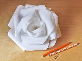 How About Orange: How to make a fabric rose
