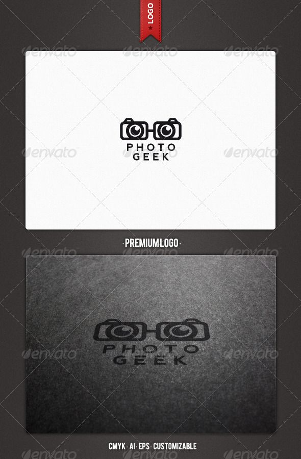 Photo Geek Logo Template - GraphicRiver Item for Sale