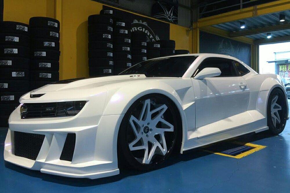 Zl1 Camaro With Wide Body Kit Chevrolet Camaro Zl1 Camaro