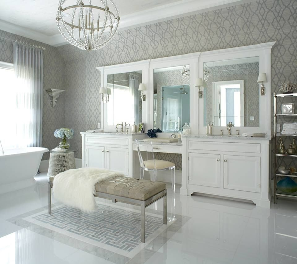 Elegant Bathrooms: We Got You An Invitation To The Hamptons!
