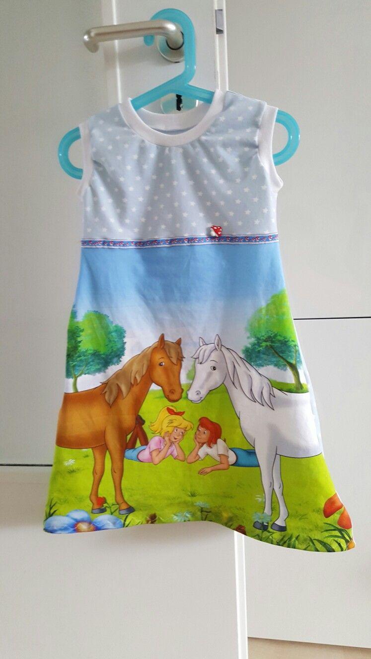 Kleid 110 Bibi und Tina | nähen | Pinterest | Bibi und tina und Nähen