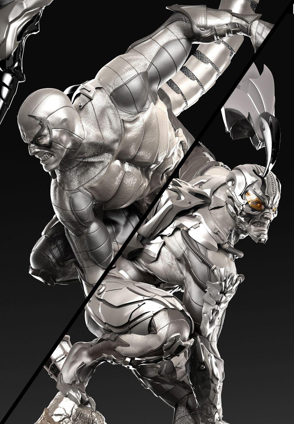 Scorpion Spiderman Villian by David Molina Fantasy