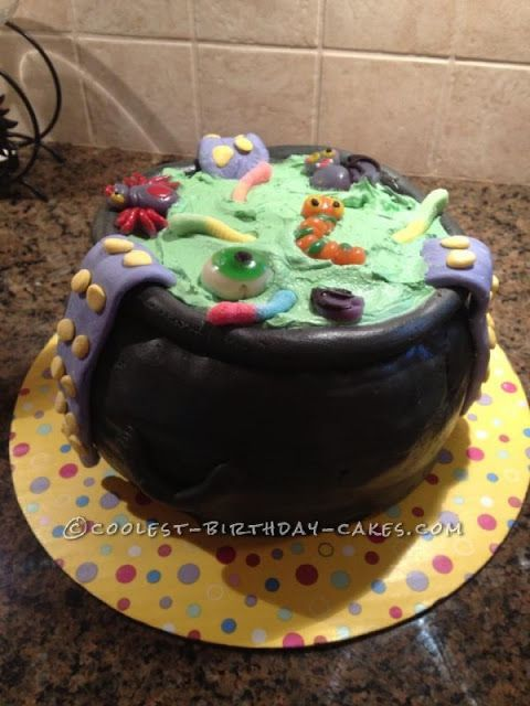 Free halloween cauldron cake images for facebook,whatsapp,instagram - halloween birthday cake ideas