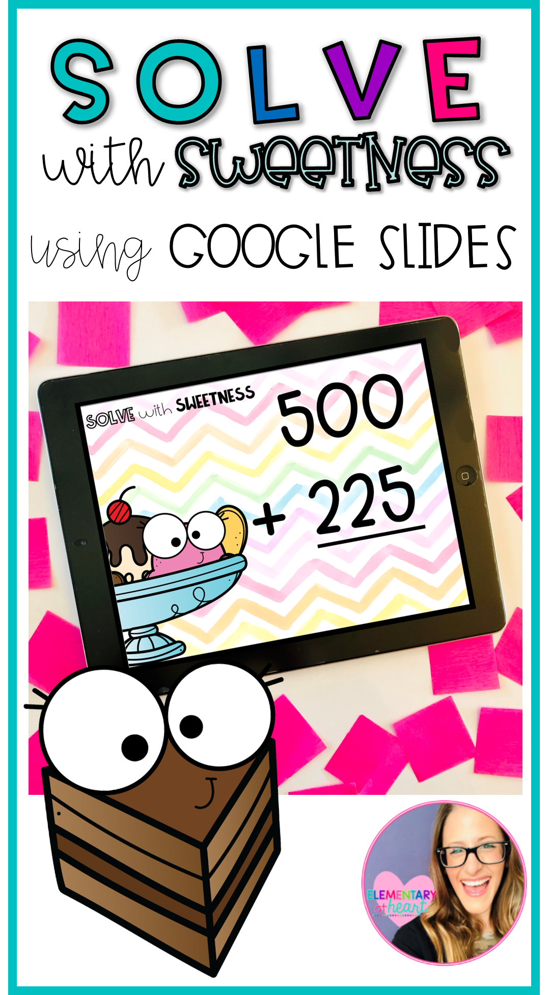 Solve With Sweetness Adding Three Digit Numbers Google Slides Math Games For Kids Spring Math Worksheets Distance Learning [ 1954 x 1080 Pixel ]