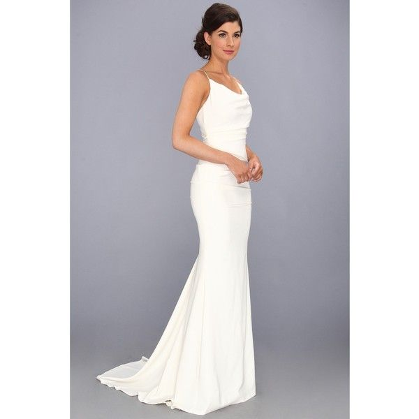 Nicole Miller Tara Bridal Gown Women\'s Dress (1,595 CAD) ❤ liked on ...