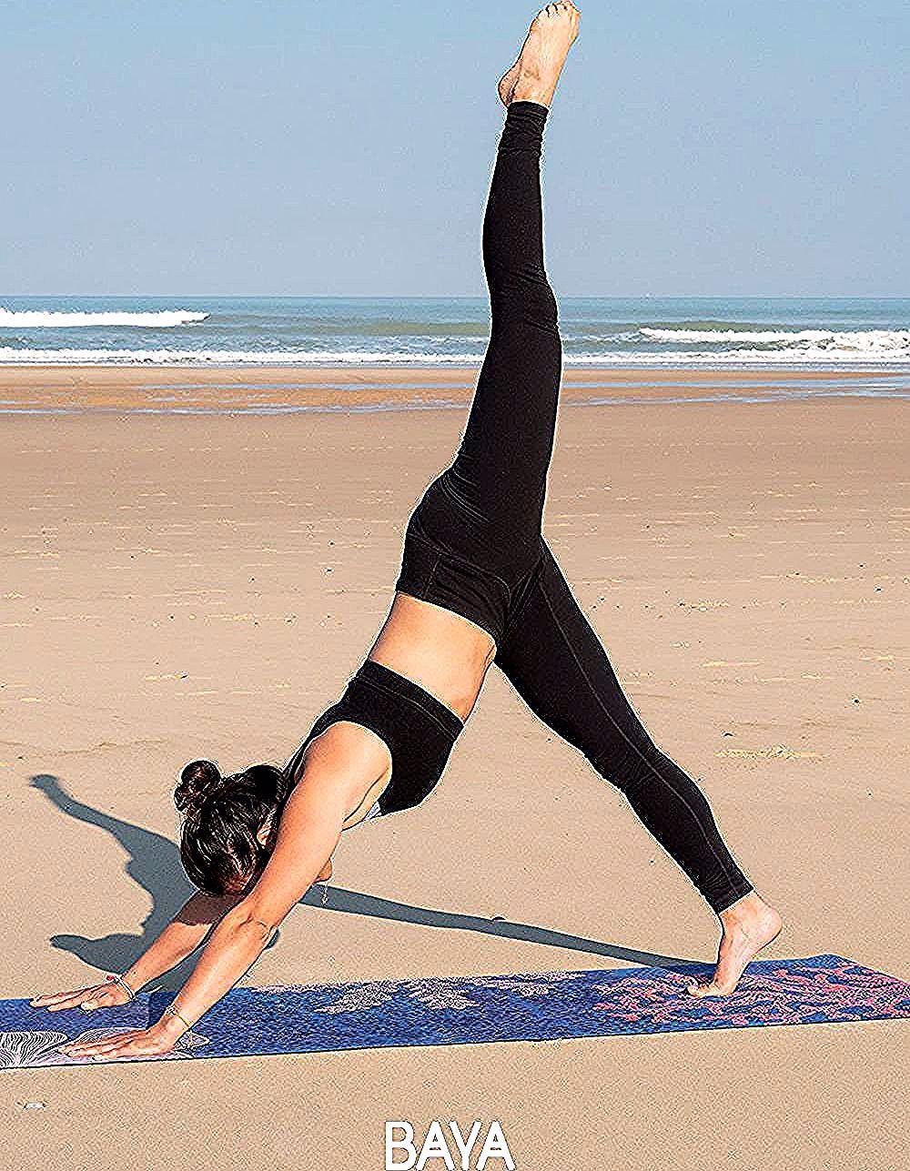 Ne Tolerez Plus De Glisser Sur Votre Tapis Pendant Votre Pratique Du Yoga Un Tapis Antiderapant Et Dense Concu Pour Les Pra In 2020 High Socks