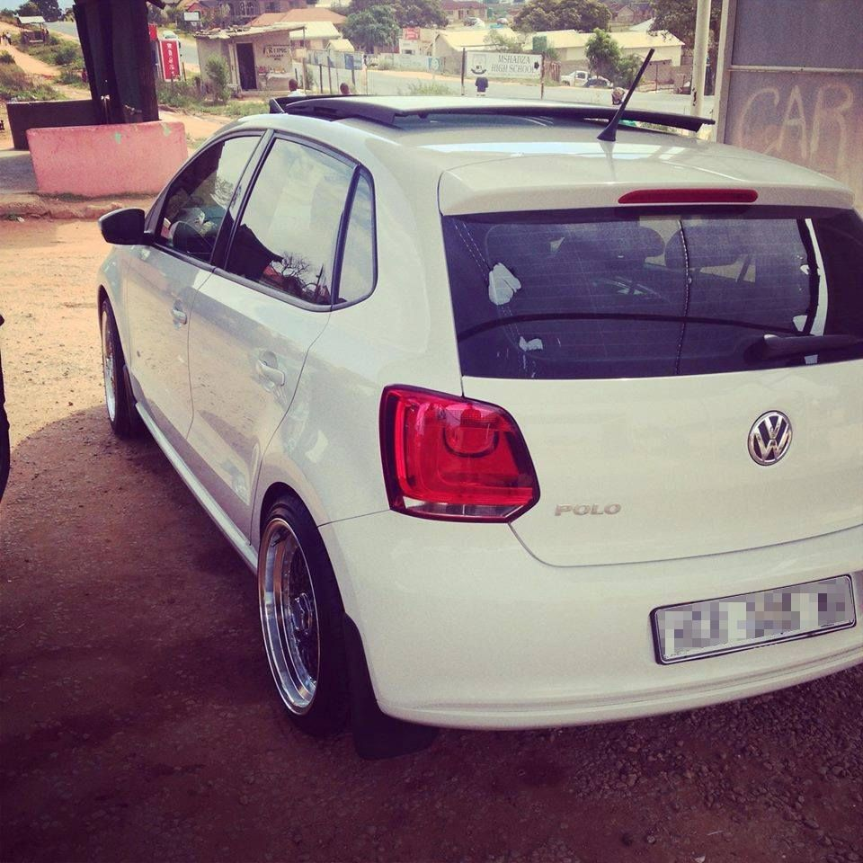 Tsepho Dube S Volkswagen Vw Polo With Sunroof Volkswagen