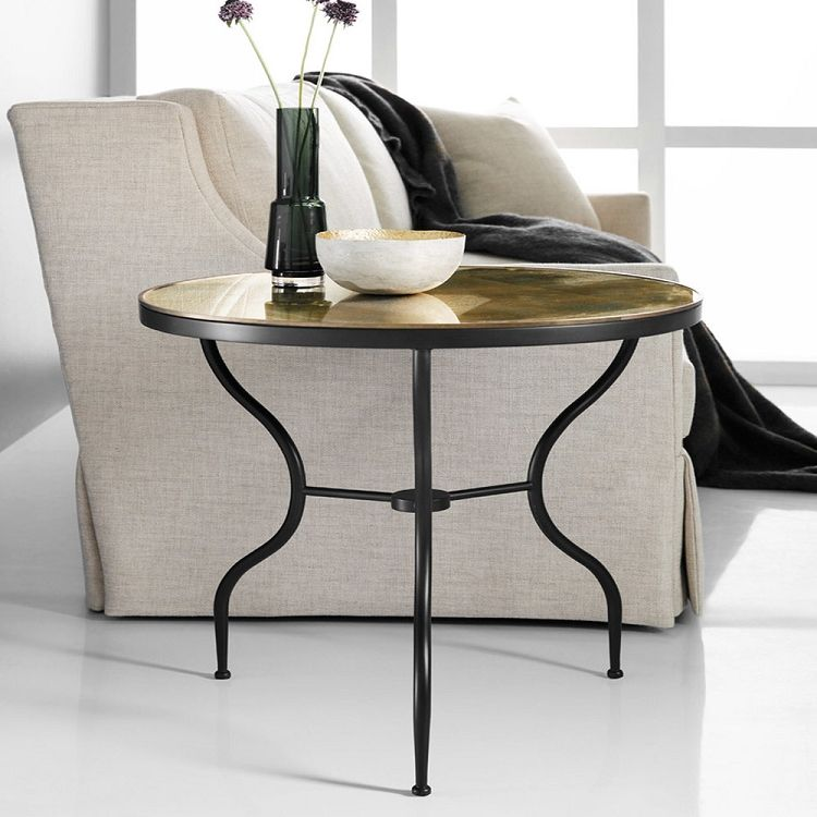 Modern History Wrought Iron End Table With Images End Tables