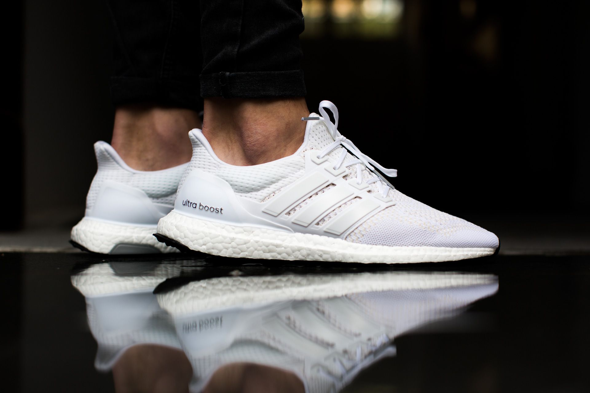huge selection of 33ab9 0dbec adidas ultra boost www.tint-footwear.com adidas ultra boost all white  everything sneaker hype tint footwear studio munich