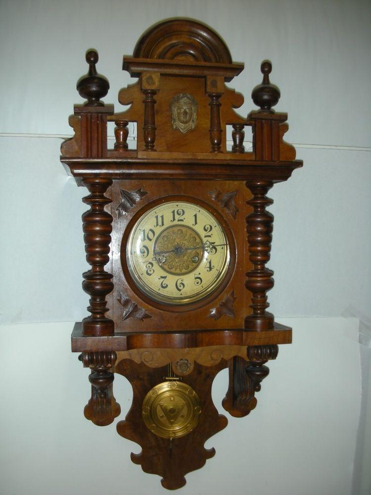 Antique GERMAN Kienzle free swinger wall clock PENDULUM ...