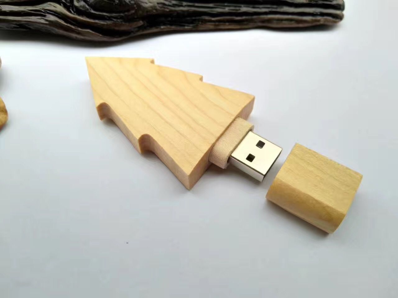 Wood Tree Shape Usb Flash Memory Sticks 1gb 2gb 4gb 8gb Storage Capacity Usb Custom Usb Flash Memory