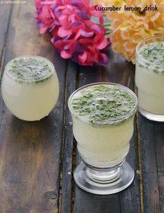 Cucumber and Lemon Drink