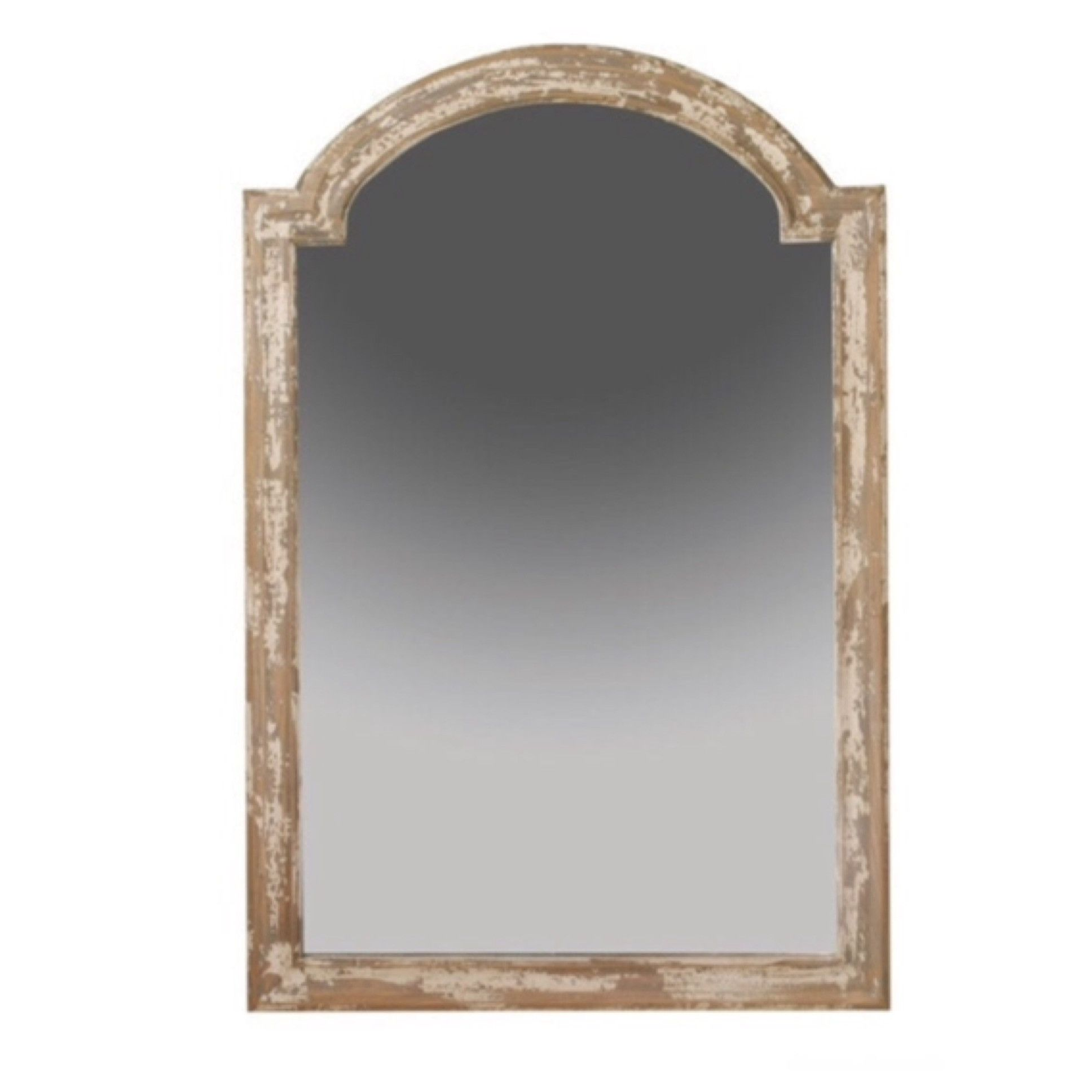 Distressed Arch Mirror 48 In 2020 Arch Mirror Distressed Wood Mirror Mantel Mirrors