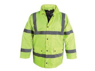 Briggs Yellow Hi Vis Superior Jacket Jackets Jackets Online Rain Jacket