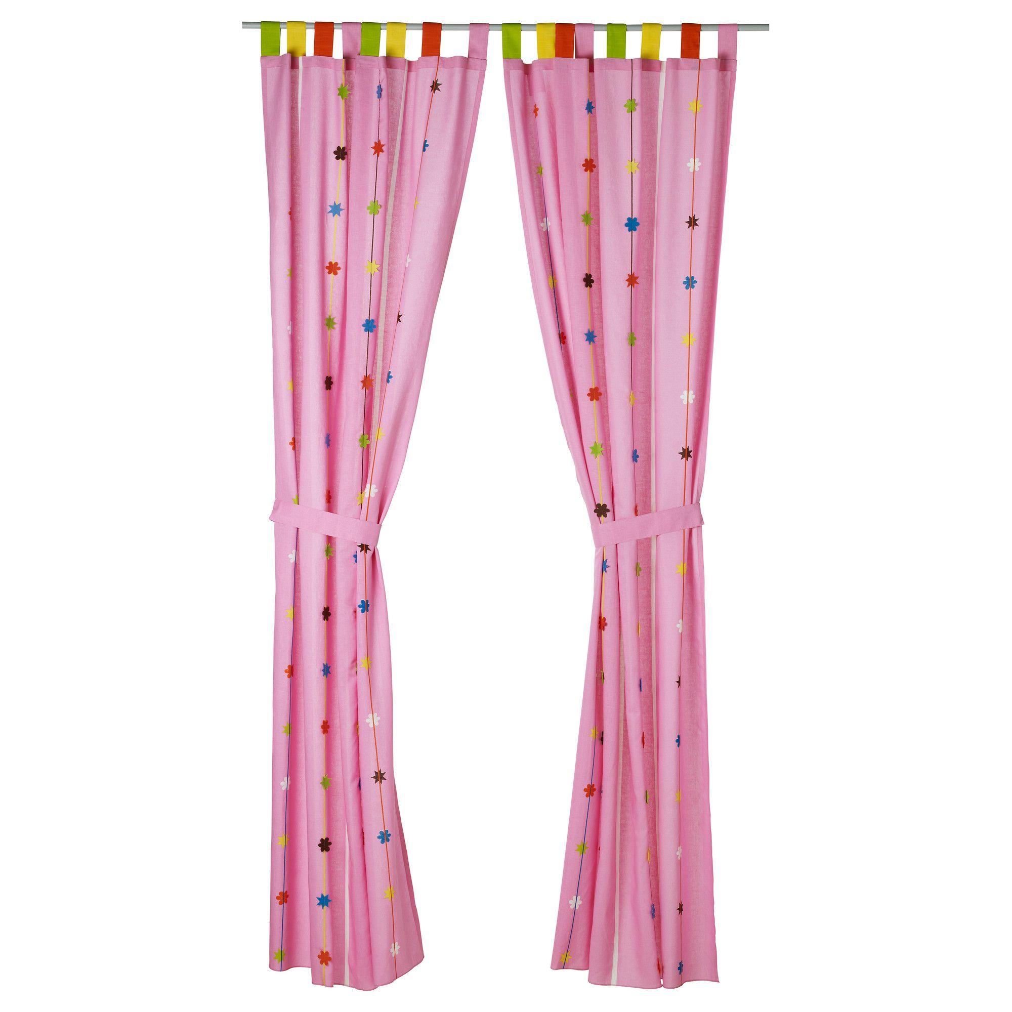 #$39.99  120 x 250 cm FESTLIG Curtain with tie-back - IKEA