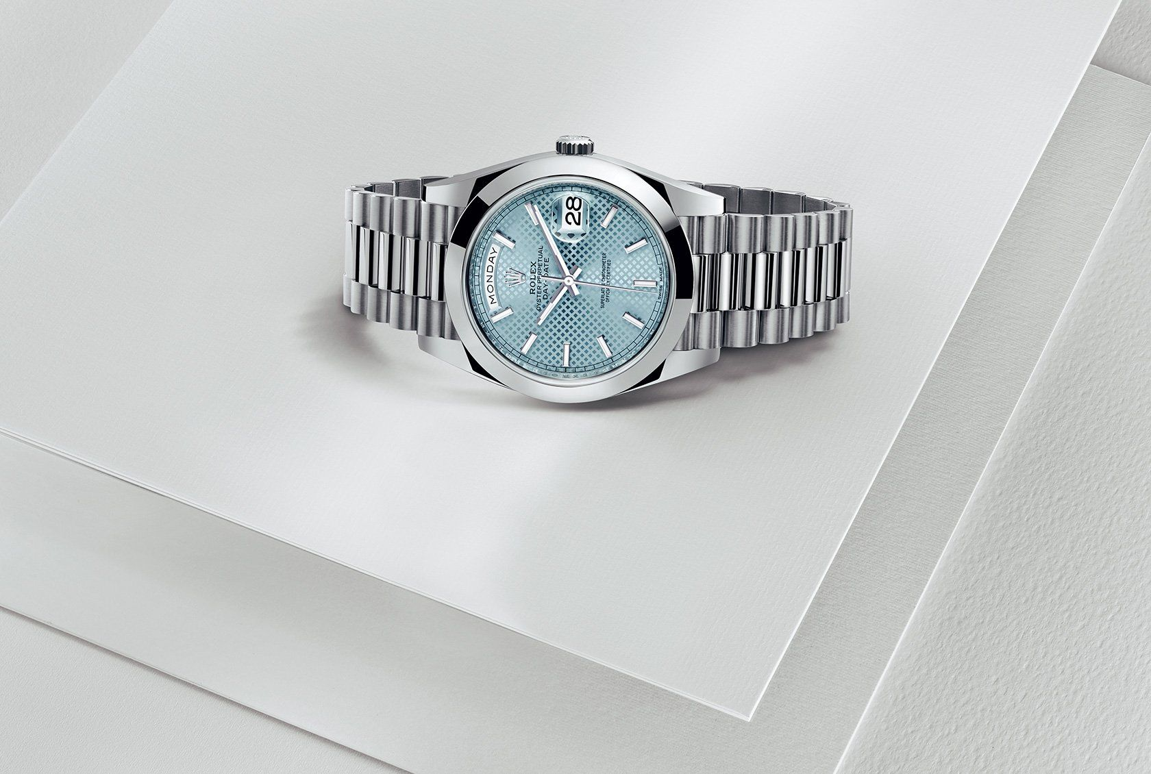 Check out the New Rolex Day-Date 40 Watch, realeased at Baselworld 2015! For more information regarding this timepiece, please be sure to visit http://www.cdpeacock.com/.