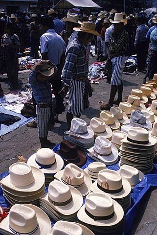 Mercado callejero.  Guatemala.