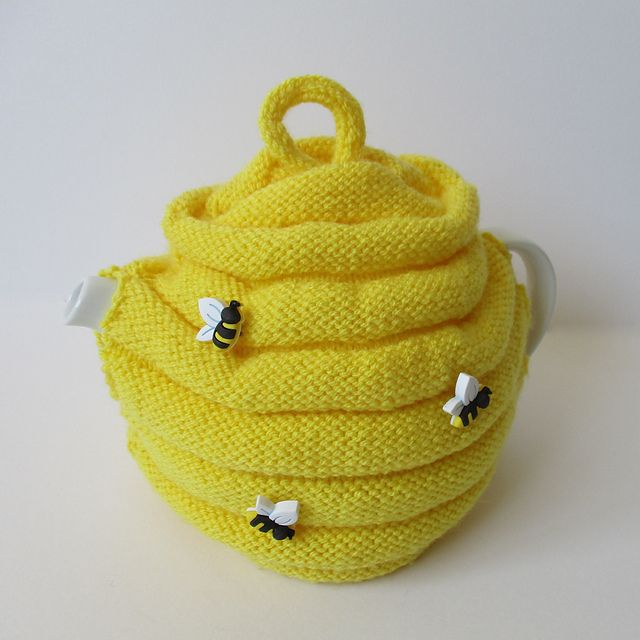 Ravelry: Beehive Tea Cosy free knitting pattern by Amanda Berry ...