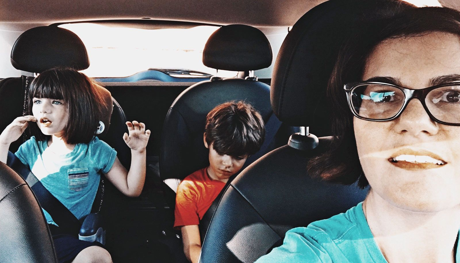 Half of parents talk on the phone while driving kids ...