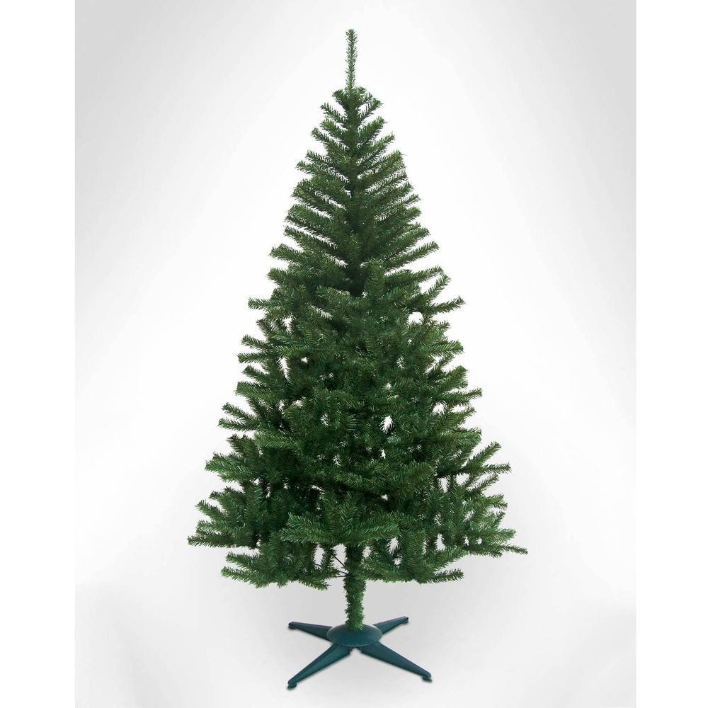 6ft Christmas Tree Canadian Pine Artificial Green Festive Home ...