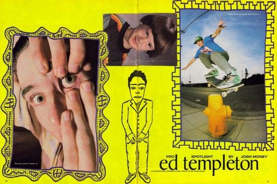 Ed Templeton Spotlight article
