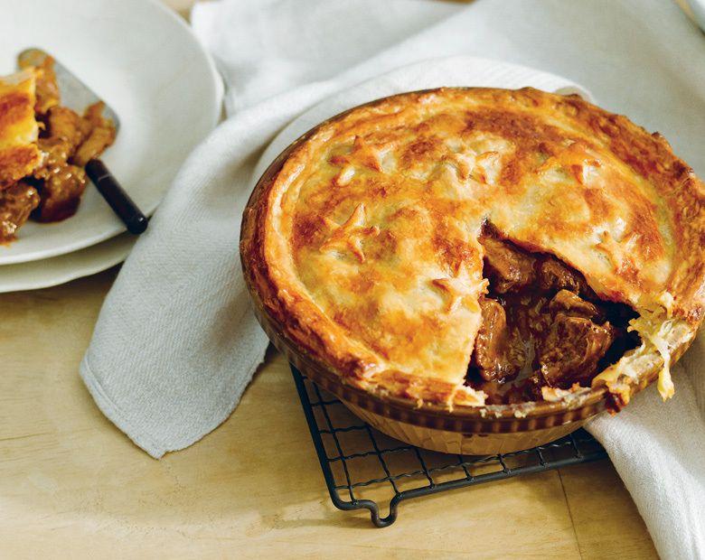 Beef and Mushroom Pie Recipe   Beef + Lamb New Zealand ...