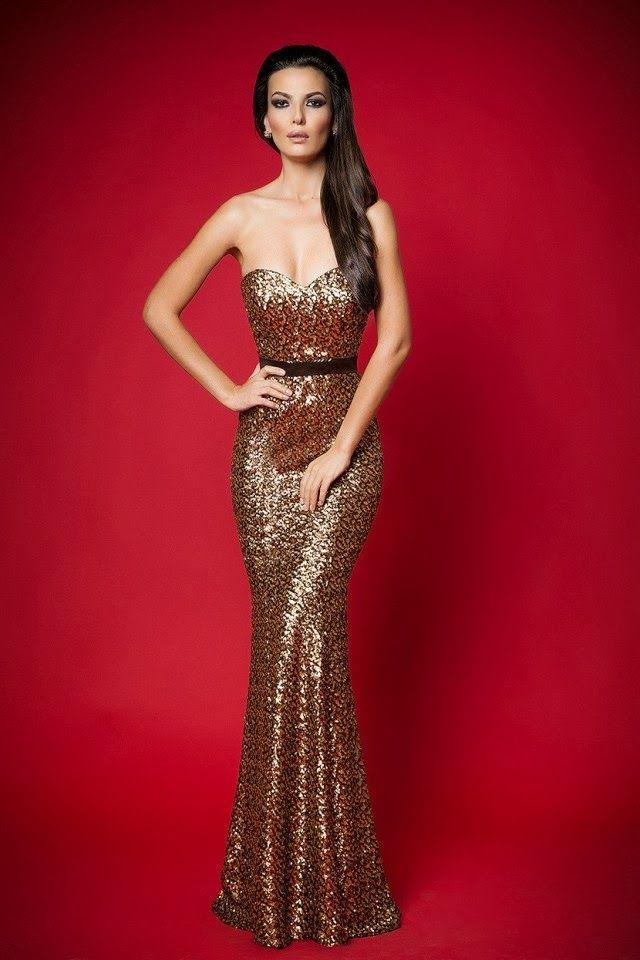 55023d17a631 Maravillosos vestidos de noche | Moda Otoño - Invierno | MoDaa en ...